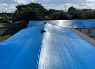 large roof tarps