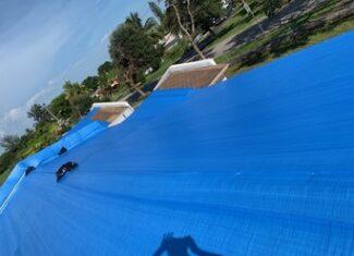 roof tarp miami
