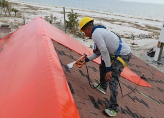 How to Install a Roof Tarp